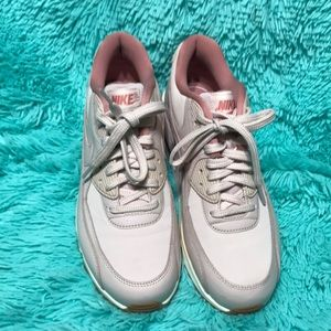 lowest price 5f6bd 597da Nike Shoes - Nike Air Max 90 Leather 921304-600 Womens Sneakers